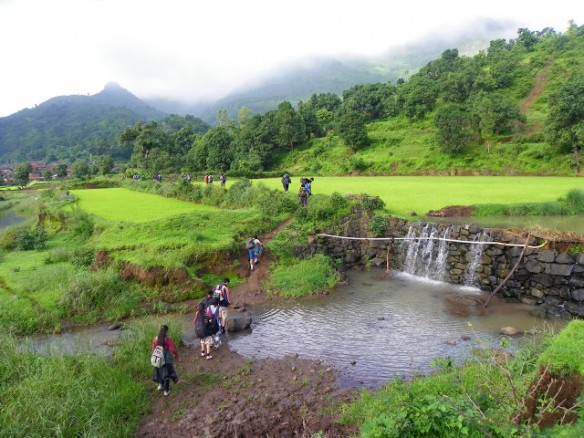 20th July, Group Travel for Kalsubai Trekking at Igatpuri