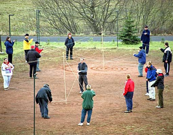 Ball Of String Team Building Game