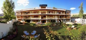 A Luxury Hotel in Leh.